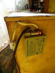 11. Mocowanie balastu do lampy metalohalogenowej